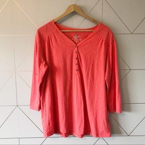 Kuhl 3/4 Sleeve Henley Shirt